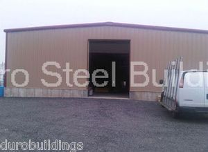 Duro Steel 40x60x10 Metal Building Commercial Auto Storage Garage