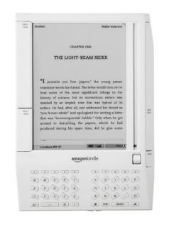 Kindle D00111 eBook Reader w Leather Case Chrger