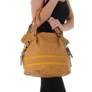 New Yellow Fashion Alyssa Shoulder Bag Hobo Tote Satchel Purse Handbag