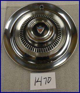 1963 63 AMC Rambler Ambassador 14 Hubcap Hub Cap Nice Used 3166359 Z