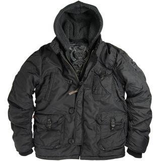 Alpha Industries Cobbs II Jacket Black XS s M L XL 2XL 3XL 4XL 5XL