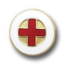 red cross medical insignia emblem lapel pin 5021 nwt friendly
