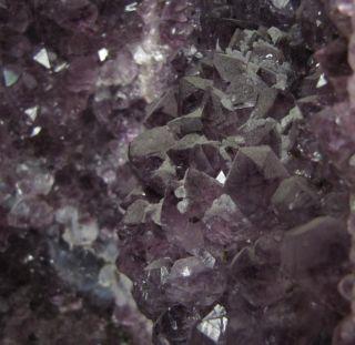 Large Amethyst Purple Cathedral 20 Crystal Gem Geode Agate Border