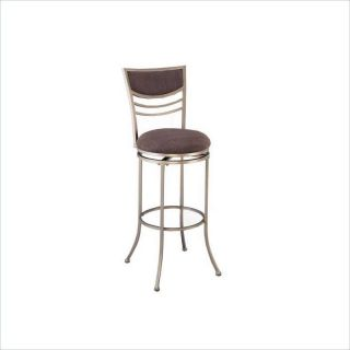 Hillsdale Amherst 30 Swivel Metal Champagne Finish Bar stool