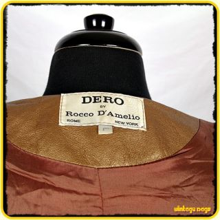 awesome item description manufacturer dero by rocco d amelio size