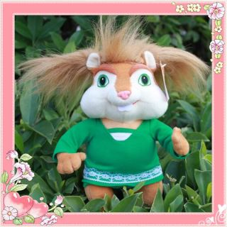 Alvin and The Chipmunks 3X Plush Toy Girl Chipmunk Stuffed Animal