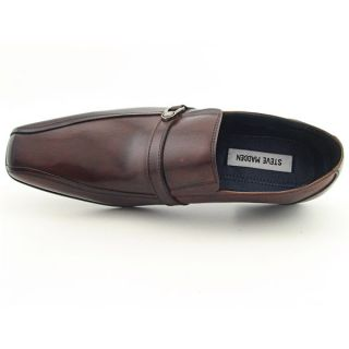 Steve Madden Amos Mens Sz 8 Brown Tan Loafers Shoes