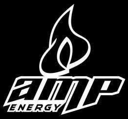 Amp Logo Vinyl Decal Energy Drink Window Car Wall Laptop RV Boat