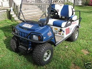 Dale Earnhardt Jr. Nascar Mt Dew Golf Cart Decals, New