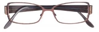 BCBG Max Azria Amerie Womens Eyeglasses Brown 53 x 15