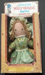 VINTAGE HOLLY HOBBIE AMY DOLL KNICKERBOCKER AMERICAN GREETINGS