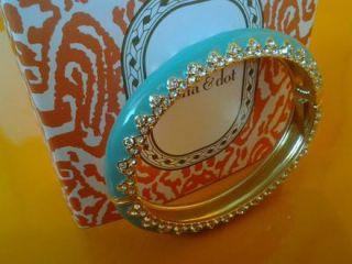 New Stella Dot Paige Enamel Bangle Bracelet Gorgeous w Gift Box