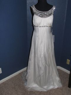 St Pucchi Anais Style 1010 Ivory 10 Silk Bridal Wedding Gown Dress