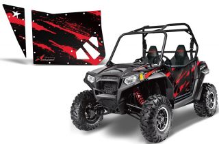AMR Door Graphic Kit Blingstar Doors Polaris RZR 570 800 900 XP RZR s