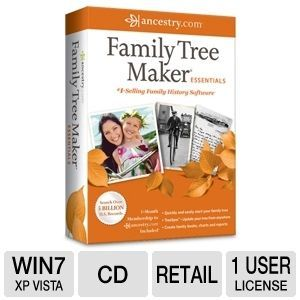 ancestry family tree maker essentials software note the condition of