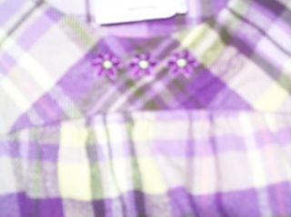 HANNA ANDERSSON Girls Flannel Plaid Jumper Dress Sz 130 7 8 10 y