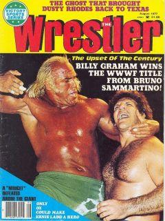 Wrestling Magazine 8 77 Andre The Giant Mil Mascaras Sammartino