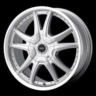 15x7 Silver Wheel American Racing Albert 5x100 5x4 5
