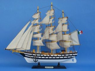 Amerigo Vespucci 20 Tall SHIP Model not A Kit