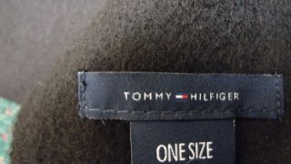 Tommy Hilfiger Mens 100 Lambswool Black Scarves Brand New