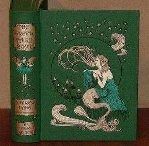 Andrew Lang Green Fairy Book Stunning Folio Society Fine Magic Swan