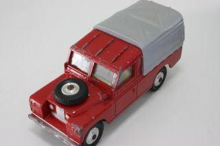 Corgi 438 Land Rover Series 2 109 Red Unrestored Original 1962