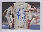 Sandy Alomar Andy Pettitte 1998 Stadium Club Co Signers Dual Auto