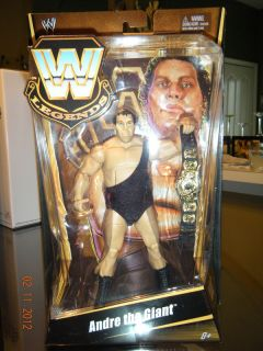 MATTEL WWE LEGENDS ANDRE THE GIANT, MATTEL EXCLUSIVE, VERY RARE, MITB