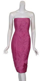 Creative Angel Sanchez Silk Cocktail Dress $3850 10 New