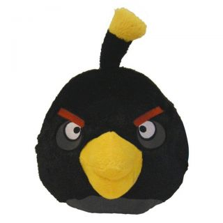 Angry Birds Plush Stuffed Toys 16 Extra Large Black Bomb Bird with