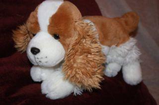 Animal Alley Brown White Cocker Spaniel Puppy Dog Plush