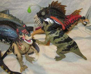 Lot of 9 Chap Mei Creatures Dinosaurs Sea Animals Figures