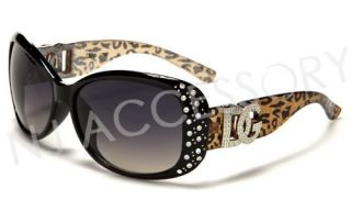 New DG Eyewear Designer Leopard Animal Print Sunglasses Cheetah Frame