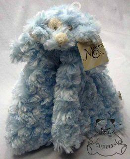 Blue Boy Baby Blanket Maison Chic Plush Toy Stuffed Animal Puppy NWT