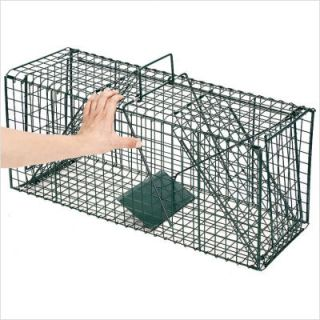 Dual Door Live Animal Pet Trap Cage 4127 Dual Door Animal Trap