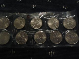 Costa Rica 5 Colones 1950 1975 Central Bank Aniversary x 10