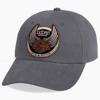 HARLEY DAVIDSON 105TH LOGO ANIVERSARY GREY HAT