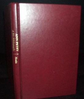 Ann Petry African American Literature Bio Bibliography