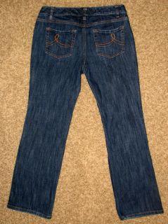 Ann Taylor Loft Original Boot Cut Jeans Women 8P Petite