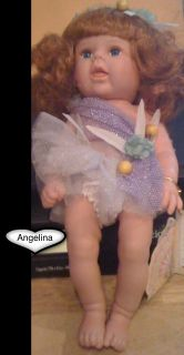 Danea Porcelain Collection Angel Doll Name Angelina