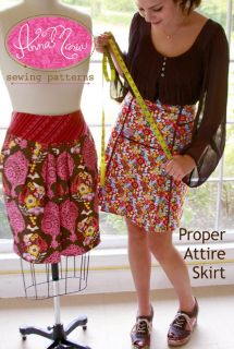 Anna Maria Horner Proper Attire Skirt Pattern XS 4XL