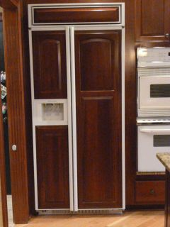 ... 36 KitchenAid Built In Refrigerator Superba 36 Custom Cherry Panels ...