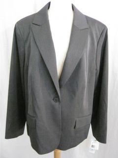 Anne Klein Womens Stretch Career Suit Blazer Jacket Various