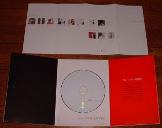 Annie Lennox ythmics Japan Promo Only Best CD Delux Folder Sleeve