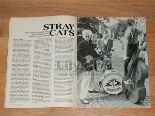 Hartman Swimsuit Preview Stray Cats Brian Setzer Ann Turkel US