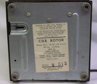 CDR Rotor AR 1 Control Box Antenna TV CB Ham Radio AR 22