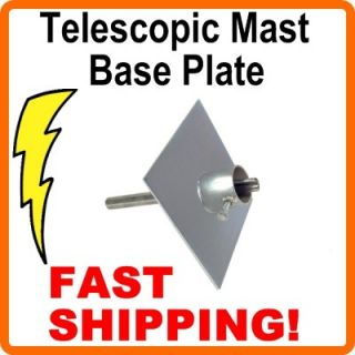 EZ32A Telescopic Antenna Mast Heavy Duty Ground Plate