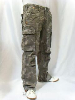 True Religion Jeans Mens Military Anthony Cargo Pants