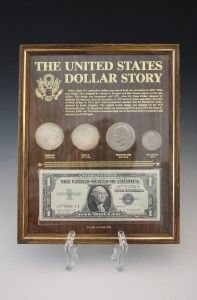 Dollar Story Morgan Peace Eisenhower Anthony Silver Cert Estate