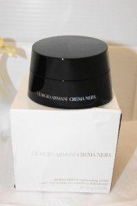Armani Crema Nera Obsidian Mineral Regenerating Cream 1 76 oz BNIB